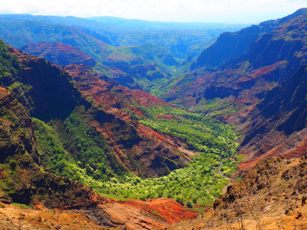 Views From The Waimea Canyon On Kauai Hawaii The Tiny